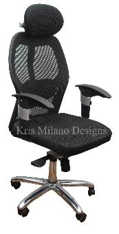 Kris Milano Mesh Back Executive Chair