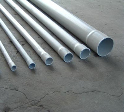 PVC plumbing pipes