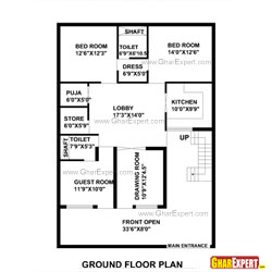 Architectural Plans Naksha Commercial And Residential