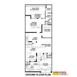 House Plan for 30 Feet by 76 Feet plot (Plot Size 253 Square Yards)