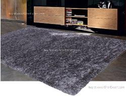 Luxury Carpet series - Practical with dark grey colored shag rug