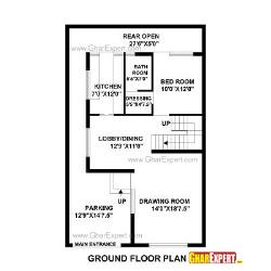 House Plan for 29 Feet by 46 Feet plot (Plot Size 148 Square Yards)