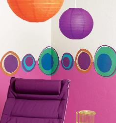 Colored Dots Wall Decal