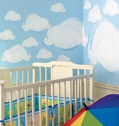 Cloudy Wall Stickers for Kids room
