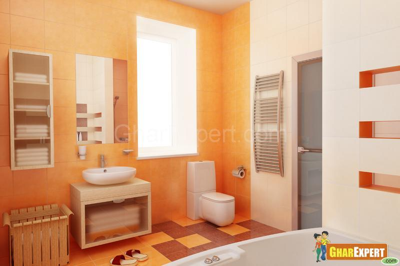 What Color Goes Well With Yellow Tile And Shower Gharexpert