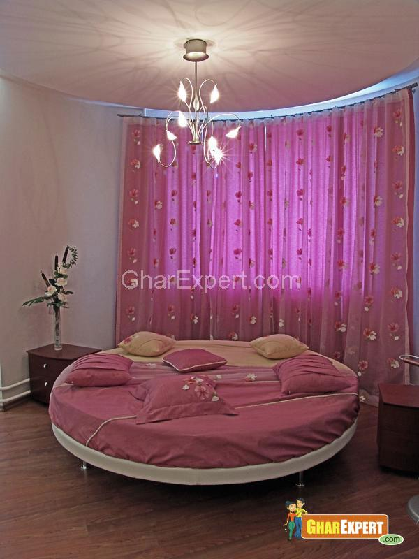 Anyone know an easy way to make bedroom curtain from bed sheets