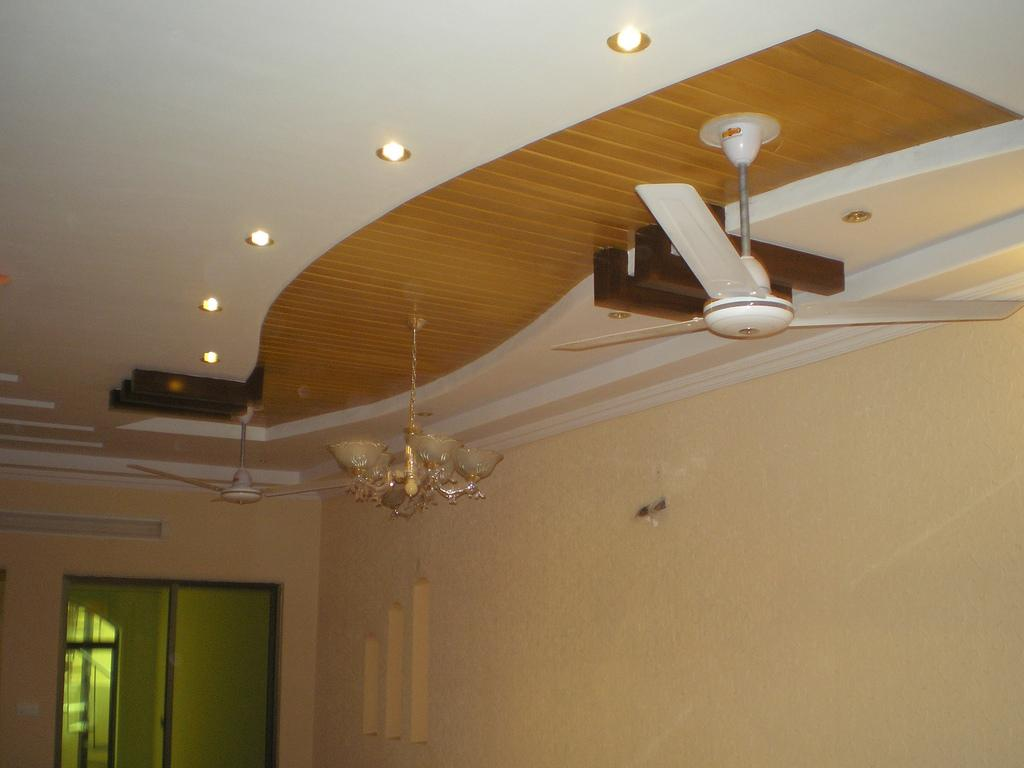 False Ceiling Designs For Living Room With 2 Fans Gopelling