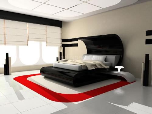 Black White And Red Bedroom - Room Image and Wallper 2017