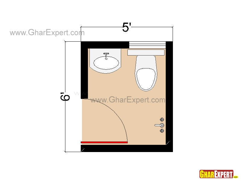 Bathroom Layouts and Plans for Small Space, Small Bathroom Layout ...
