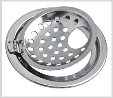 Camry Round Grating Sanitroking Gipsy With Hinge SKGH-06