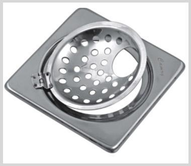 Camry Square Grating Sanitroking DX Gipsy With Hinge SKDGH-06