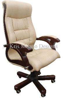 Kris Milano High Back Soft Leather Executive Chair