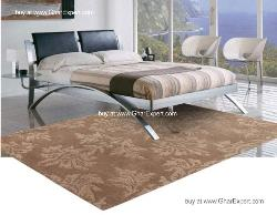 Fantasy Carpet series - Spring season Indoor beige ivory floral pattern hand woven area rug