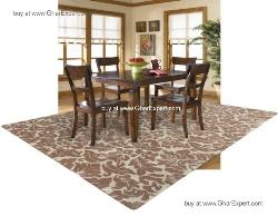 Fantasy Carpet series - Spring season Indoor skin shade floral pattern hand woven area rug