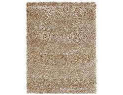 Luxury Carpet series - Remarkable beige colored shag rug