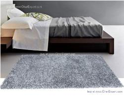 Luxury Carpet series - Remarkable silver colored shag rug