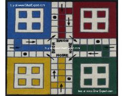 Kids Carpet series -  Ideal ludo game pattern area kids rug