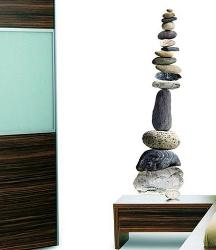 Pebbles tower wall sticker