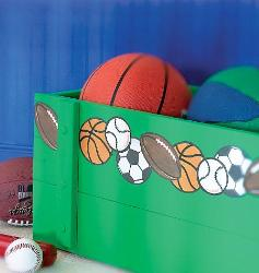 Sport Balls Wall plaques for Boys room