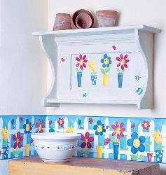 Flower Pots for Girls Room