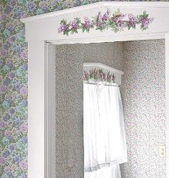 Lilac Flower Wall Sticker for Kids room