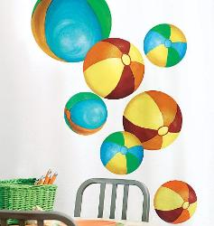 Balls Wall Stickers for Boys Room