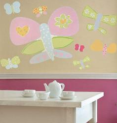 Butterfly Wall Stickers for Girls Room