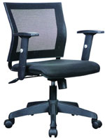 Kris Milano Low Back Mesh Computer Chair