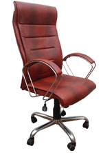 Kris Milano Puffy Tall Executive Chair