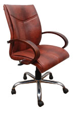 Kris Milano Medium Back Luxurious Conference Chair