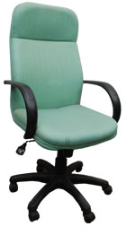 Kris Milano High Back Fabric Conference  Chair